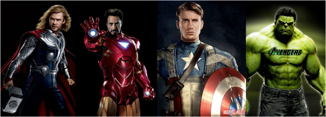 Superheroes All
