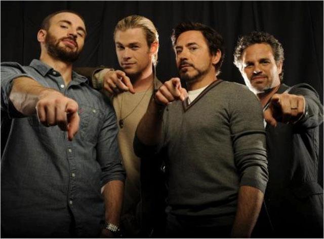 Superheroes Avengers