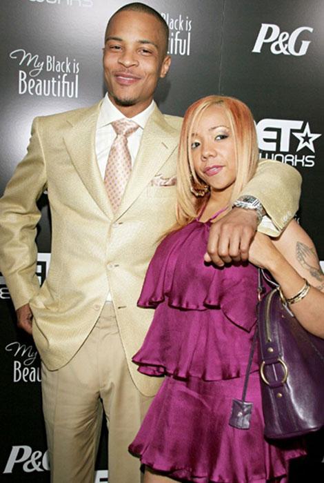 T.I. with Wife Tameka