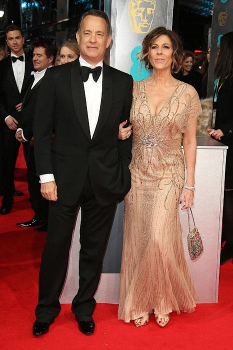Tom Hanks and Rita Wilsonards.