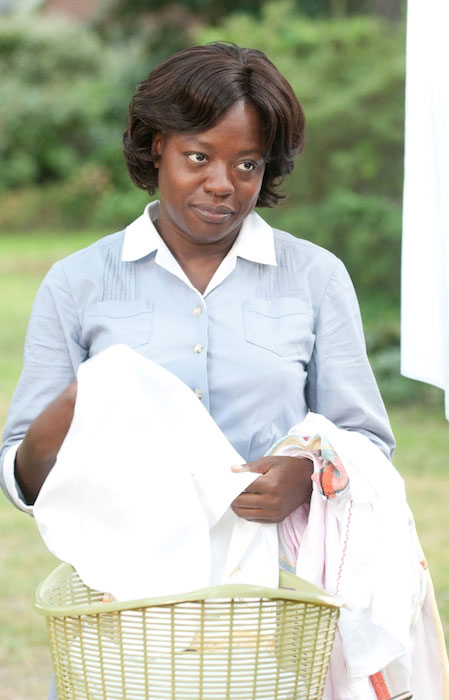 Viola Davis in her critically acclaimed role as Aibileen Clark in 'The Help'