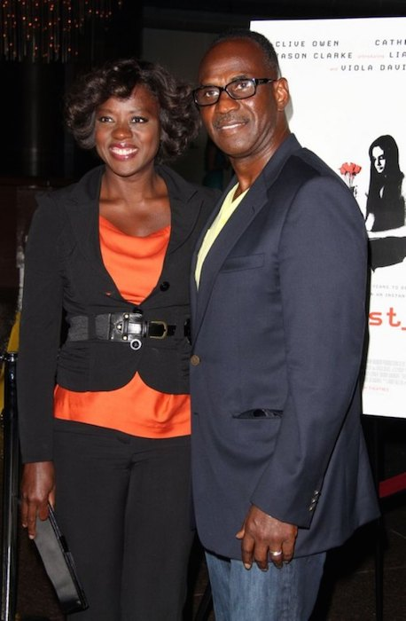 Viola Davis with her husband Julius Tennon.