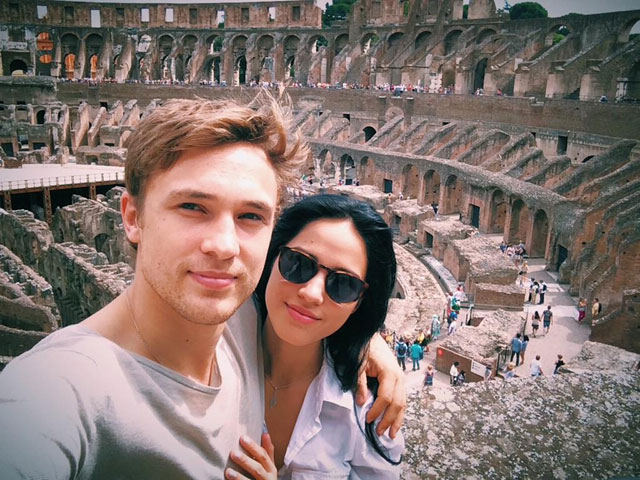 William Moseley and Kelsey Chow