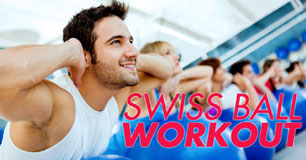 5 Swiss Ball Exercises to Work Core, Balance And Strength!