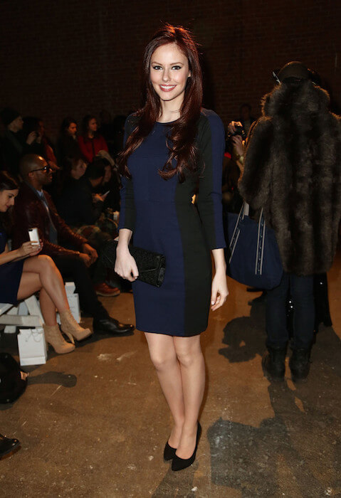 Alyssa Campanella at 2014 Fashion Show in New York City