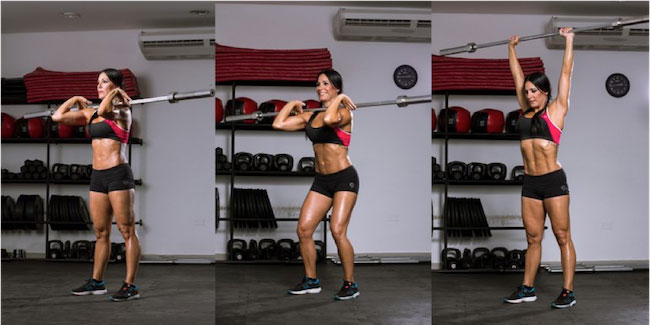 Barbell Exercise Female