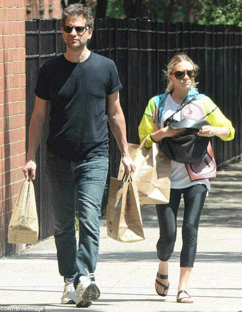 Bennett Miller and Ashley Olsen