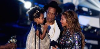Beyonce, Jay-Z, and Blue Ivy Carter