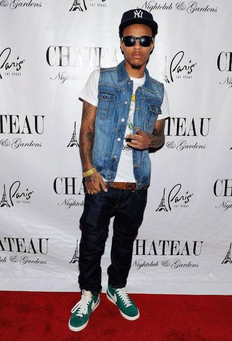 Bow Wow on red carpet, before a performance at an event by Chateau Nightclub and Gardens