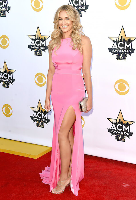 Brittany Kerr at ACM Awards 2015