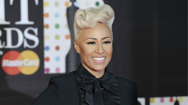 Emeli Sande during Brit Awards 2013