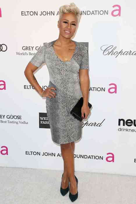 Emeli Sande at Elton John Aids Foundation Event