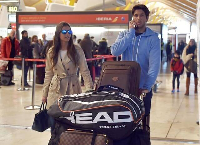 Fernando Verdasco and Ana Boyer