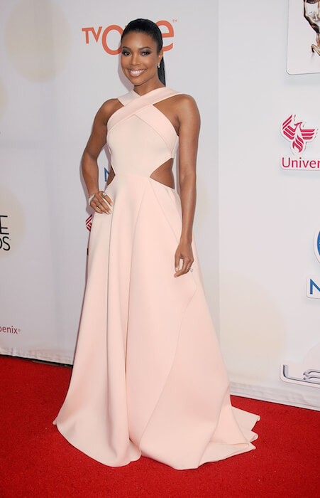 Gabrielle Union at 2015 NAACP Image Awards