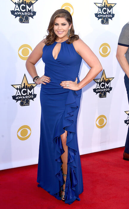 Hillary Scott at ACM Awards 2015
