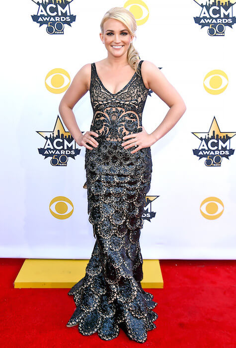 Jamie Lynn Spears at ACM Awards 2015