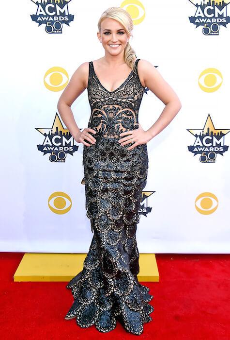 Jamie Lynn Spears at ACM Awards 2015