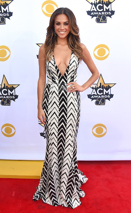 Jana Kramer at ACM Awards 2015