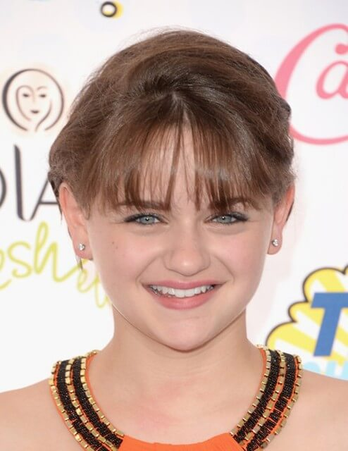 Joey King at FOX's 2014 Teen Choice Awards held at The Shrine Auditorium on August 10, 2014 in Los Angeles, California