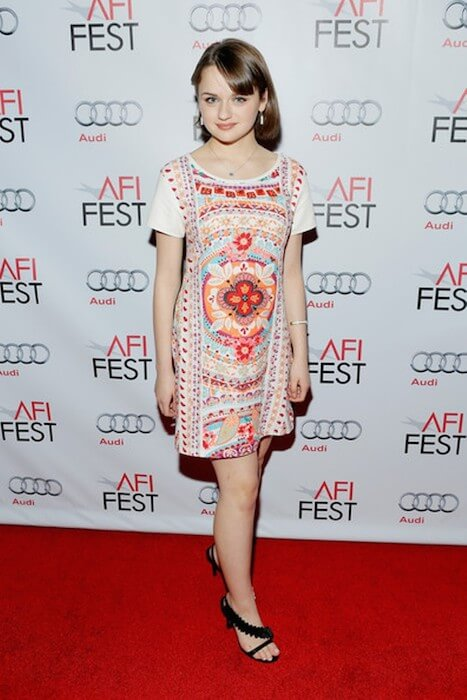 Joey King attends the AFI FEST 2014 Presented by Audi on November 7, 2014 in Hollywood, California