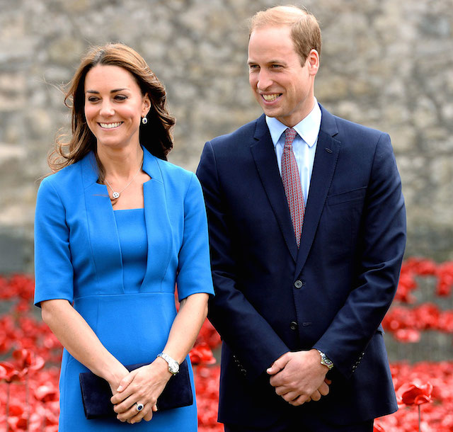 Kate Middleton and Prince William after Kate's second pregnancy