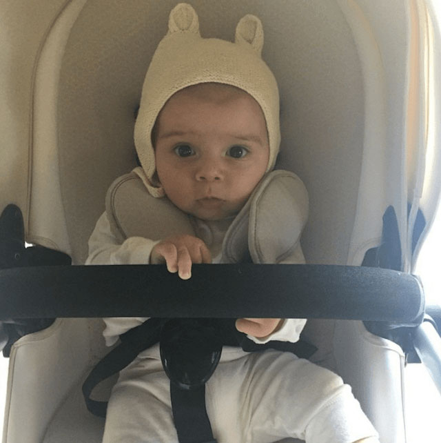 Kourtney Kardashian's new baby son, Reign Aston Disick