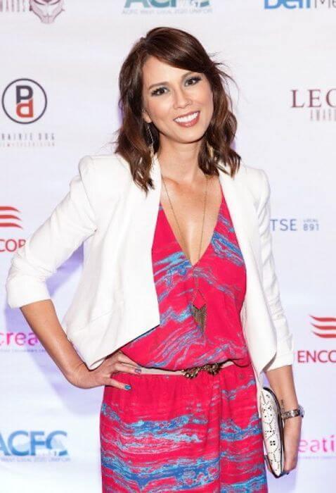 Lexa Doig at 2014 Leo Awards