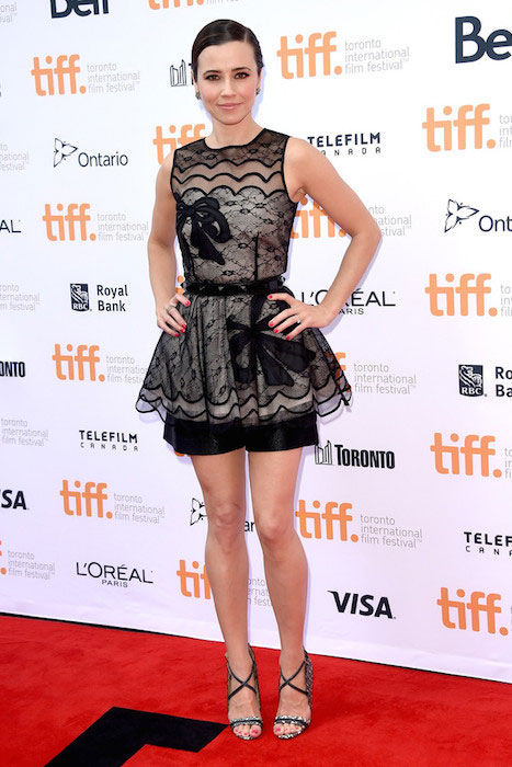 "Linda Cardellini attends the ""Welcome To Me"" premiere during the 2014 Toronto International Film Festival"