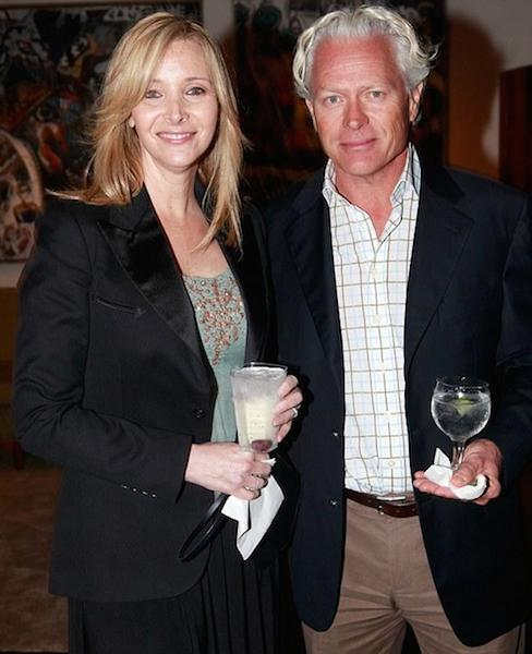 Lisa Kudrow and her ex-husband Michael Stern