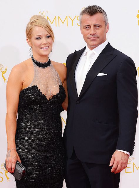 Matt LeBlanc and Missy McKnight