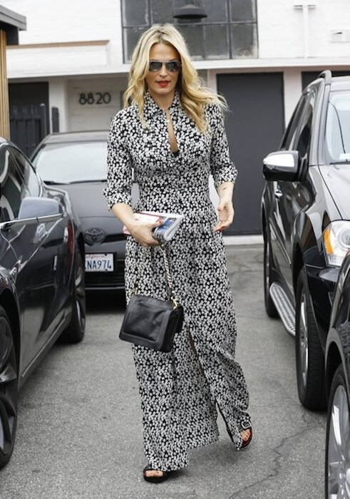 Molly Sims after her second pregnancy