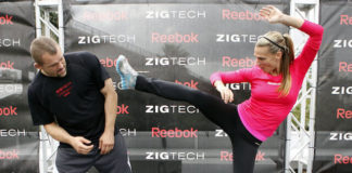 Molly Sims exercise