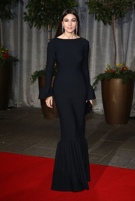 Monica Bellucci attends the after party of EE British Academy Film Awards 2015 on February 8, 2015 in London