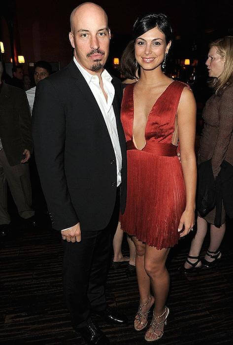 Morena Baccarin and her better-half, Austin Chick