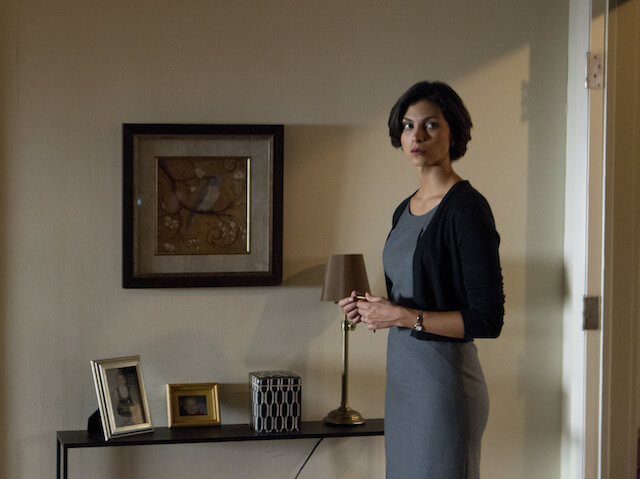 "Morena Baccarin in a still from ""Homeland"" Series 2, Episode #6.2"