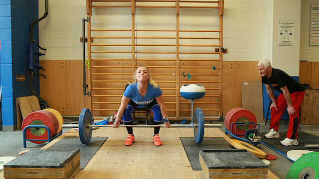 Morgan King weightlifter