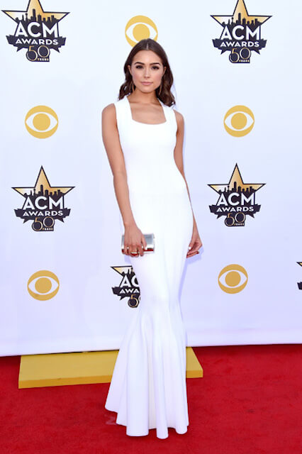 Olivia Culpo at ACM Awards 2015