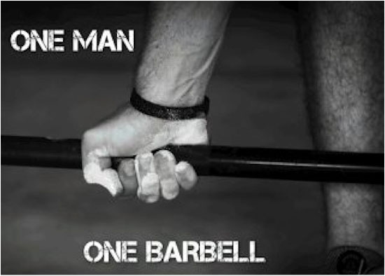 One Man - One Barbell