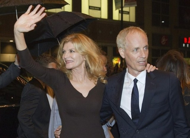 Rene Russo and her director husband Dan Gilroy