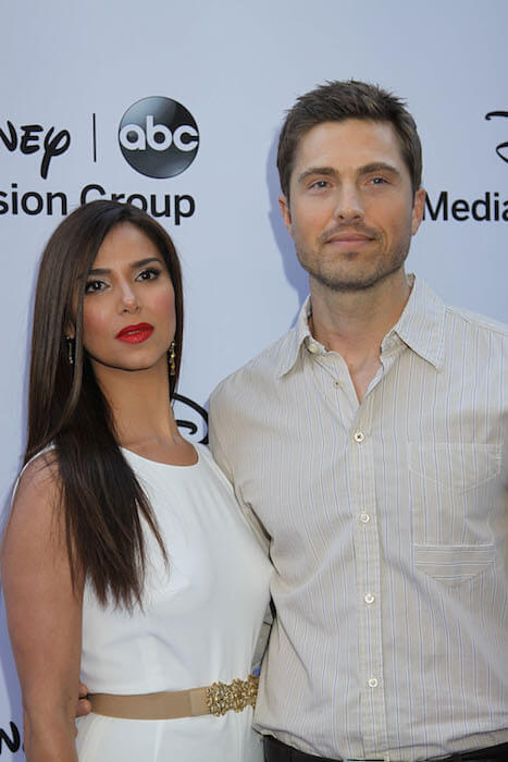 Roselyn Sánchez with nice, Husband Eric Winter