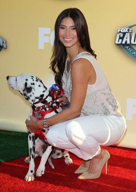Roselyn Sanchez during FOX's cause for Paws at the Barker Hangar in Santa Monica