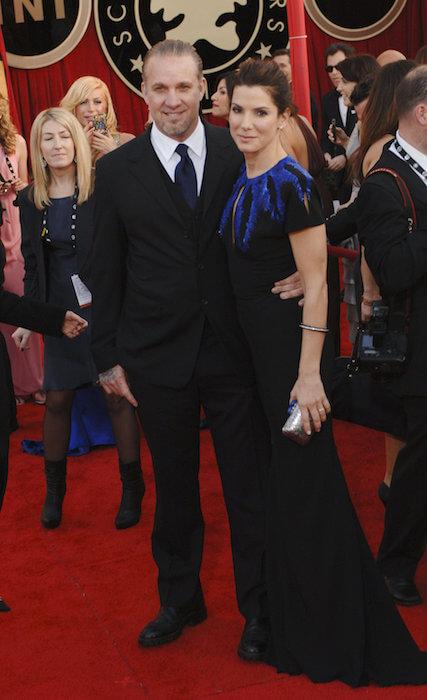 Sandra Bullock and her ex-husband Jesse James.