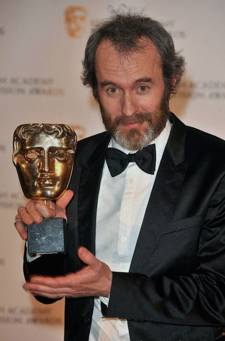 Stephen Dillane with an award