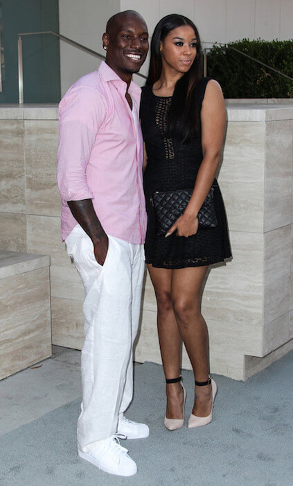 Tyrese Gibson and Lyndriette Kristal Smith