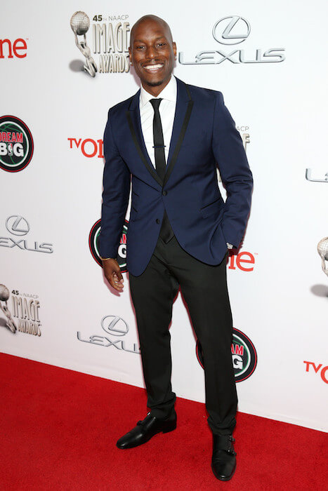 Tyrese Gibson at TV One's 45th NAACP Image Awards