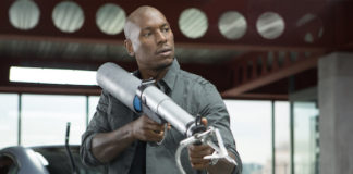 """Tyrese Gibson in a still from """"Fast and Furious 6"""""""