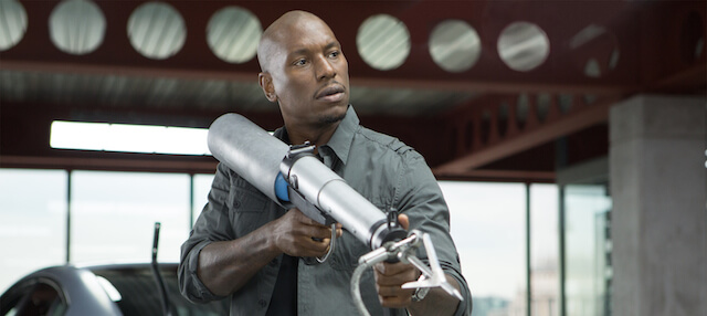 "Tyrese Gibson in a still from ""Fast and Furious 6"""