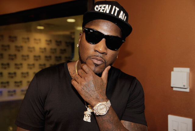 Young Jeezy wearing golden watch