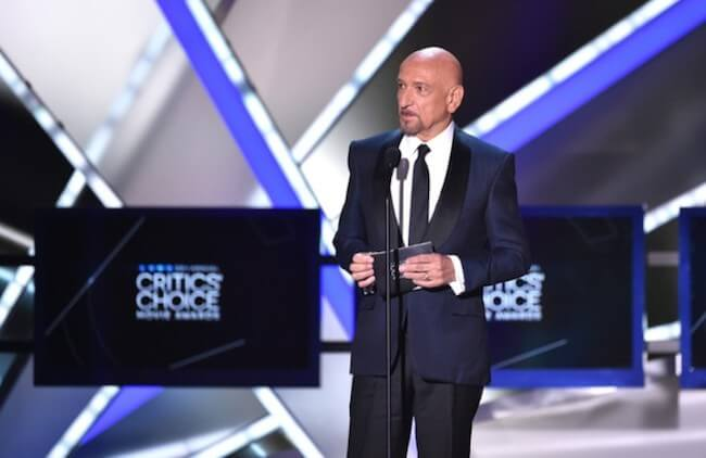 Ben Kingsley during 20th annual Critics' Choice Movie Awards on January 15, 2015 in Los Angeles, California