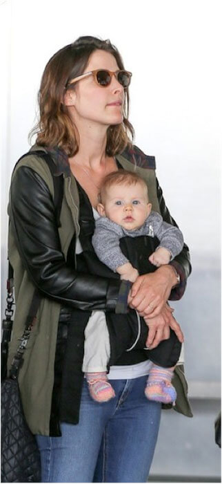 Cobie Smulders with baby boy